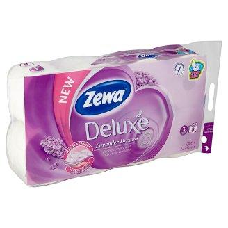 Zewa Deluxe Lavender Dreams toaletní papír 8 rolí