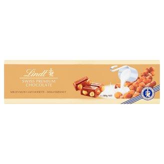 Lindt Swiss Milk Chocolate with Whole Hazelnuts 300g