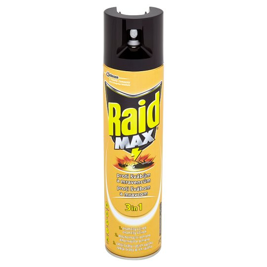 Raid Max Against Leaking Insects 400ml