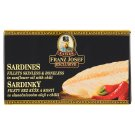 Kaiser Franz Josef Exclusive Sardines Fillets in Sunflower Oil with Chili 90g