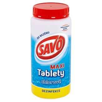 Savo do bazénu Chlorové tablety MAXI 1,4kg