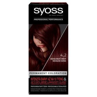image 1 of Syoss SalonPlex Hair Color Mahagony Brown 4-2