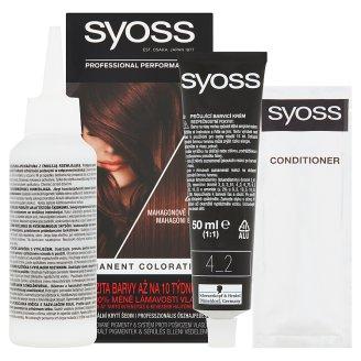 image 2 of Syoss SalonPlex Hair Color Mahagony Brown 4-2