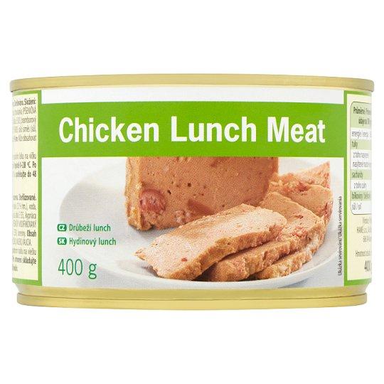 Tesco Value Chicken Lunch Meat 400g