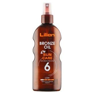 Lilien Sun Active Bronze voděodolný olej SPF 6 200ml