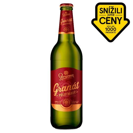 Staropramen Granát pivo ležák polotmavý 0,5l