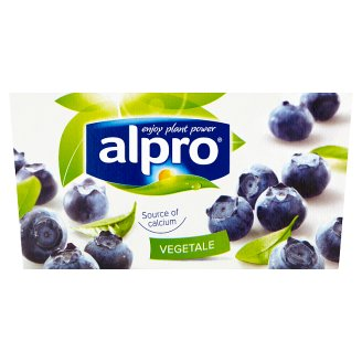 Alpro Sour Soy Product Blueberry 2 x 125g