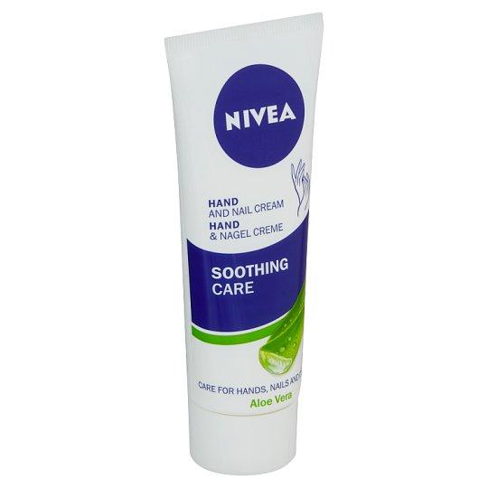 Nivea Soothing Care Zklidňující krém na ruce s aloe vera 75ml