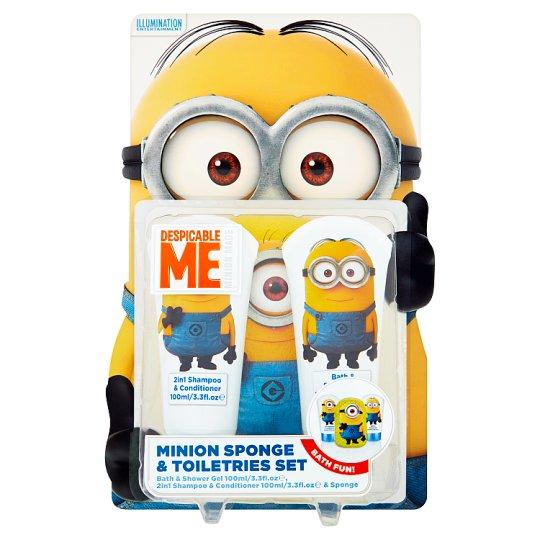 Despicable Me Minion Sponge & Toiletries Set