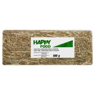 Happy Food Kvalitní luční seno pro hlodavce 500g