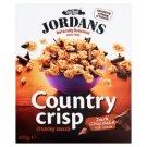 Jordans Country Crisp obilné lupínky se strouhanou hořkou čokoládou 400g