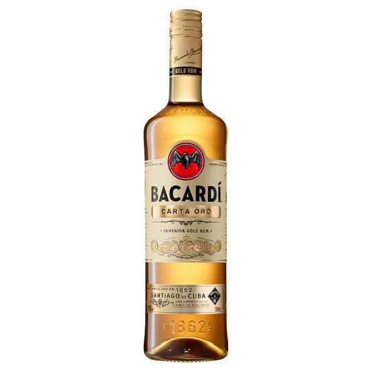 Bacardi Carta Oro rum 700ml