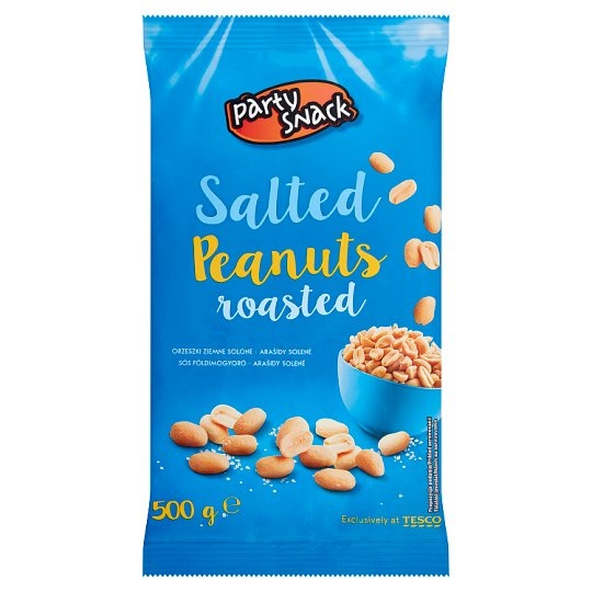 Party Snack Peanuts Roasted Salted 500g