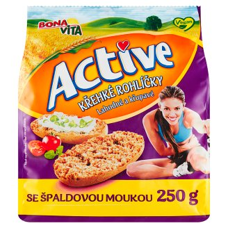 Bona Vita Active Crisp Bread Rolls with Spelled Flour 250g