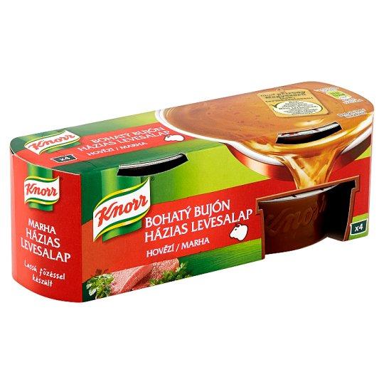 Knorr Bohatý Bujón Beef 4 x 28g