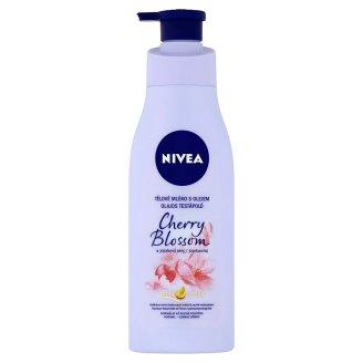 Nivea Třešňový květ & jojobový olej Tělové mléko s olejem 200ml