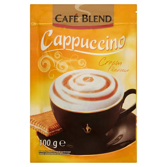 Café Blend Cappuccino with Cream Flavour 100g