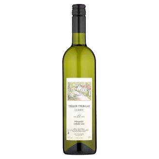 Müller Thurgau Clasic moravské zemské víno bílé suché 0,75l