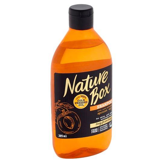 Nature Box šampon Apricot Oil 385ml