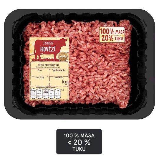 Tesco Beef Mince Meat 20% Fat 500g