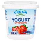 Cream Fields Jogurt s jahodovou příchutí 330g
