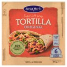 Santa Maria Mexican Wheat Tortillas Large 6 pcs 371g