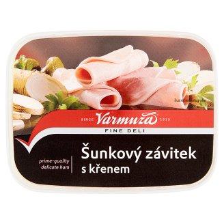 Varmuža Ham Roll with Horseradish 200g