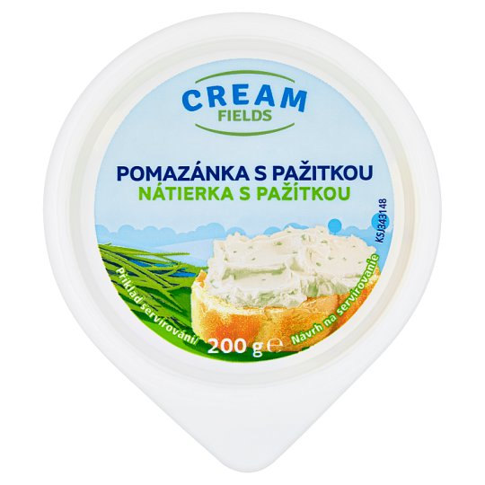 Cream Fields Spread with Chives 200g