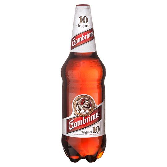 Gambrinus Original 10 Light Draft Beer 1.5L