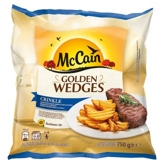 McCain Country Potatoes Crinkle 750g