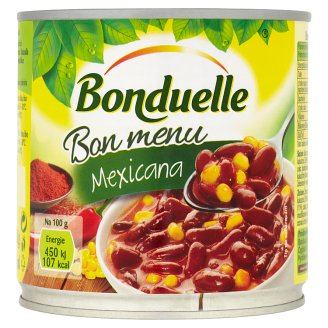 Bonduelle Mexicana Red Beans with Corn in Chilli Sauce 430g