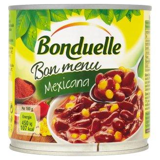 Bonduelle Bon Menu Mexicana červené fazole s kukuřicí v chilli omáčce 430g