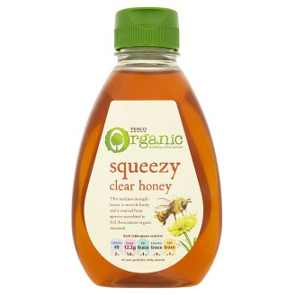 Tesco Organic Clear Honey 340g