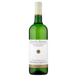 Znovín Znojmo Tramín červený 2015 odrůdové bílé víno jakostní polosladké 0,75l