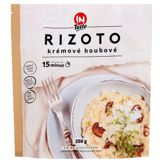 InTaste Rizoto krémové houbové 250g