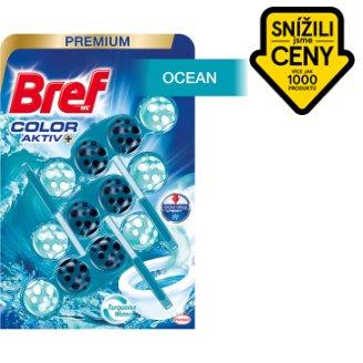 Bref Turquoise Aktiv Ocean tuhý WC blok 3 x 50g
