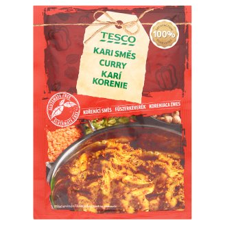 Tesco Curry Seasoning Mix 25g