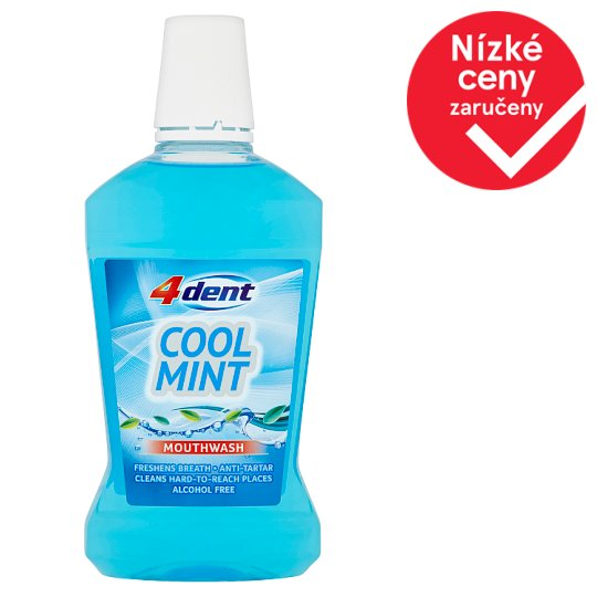 4Dent Cool Mint ústní voda 500ml