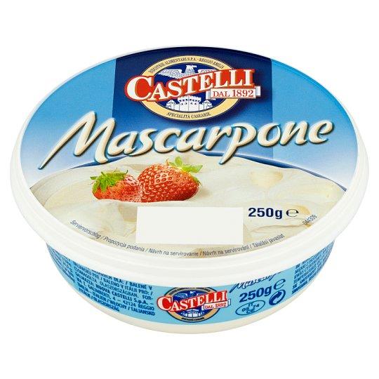 Castelli Mascarpone smetanový sýr 250g