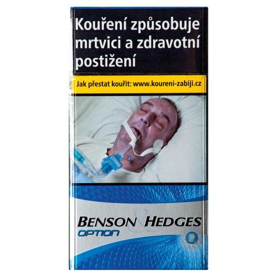 Benson & Hedges Super Option cigarety s filtrem 20 ks