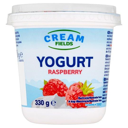 Cream Fields Jogurt s malinovou příchutí 330g