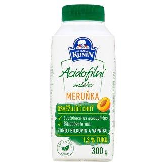 Mlékárna Kunín Acidofilní mléko meruňka 300g