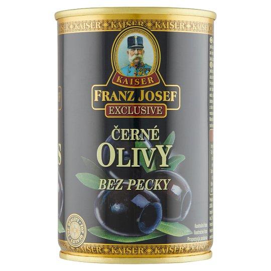 Kaiser Franz Josef Exclusive Black Olives Pitted 300g