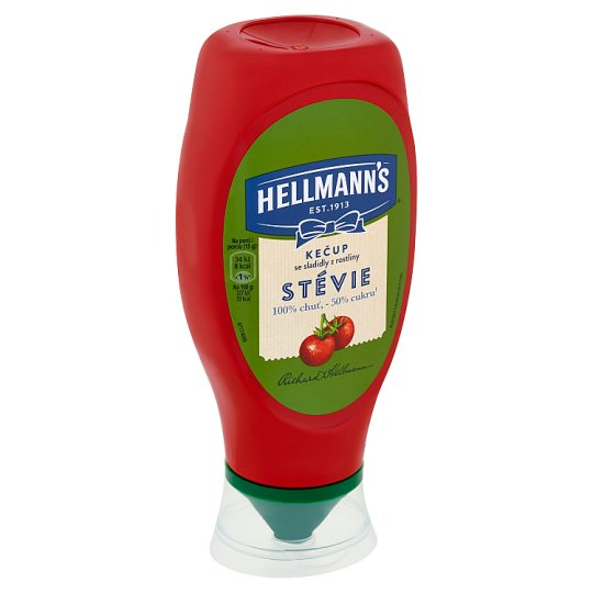 Hellmann's Ketchup Sweeteners from Stevia Plant 450g