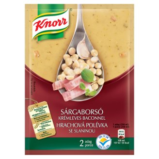 Knorr Creamy Pea Soup with Bacon 50g
