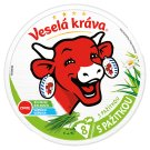 Veselá Kráva Melted Cheese with Chives 8 pcs 120g