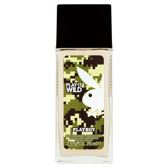 Playboy Play It Wild Deodorant natural sprej 75ml
