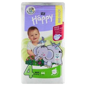 """Happy Maxi Dětské plenky """"4"""" á 66 ks"""