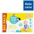 Tesco Fred & Flo Pleny Ultra Dry 4 Maxi 100 ks
