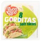 Poco Loco Gorditas Wheat Pancakes 15cm 8 pcs 272g